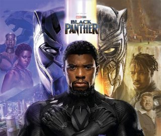 MARVELS BLACK PANTHER ART OF MOVIE SLIPCASE HC