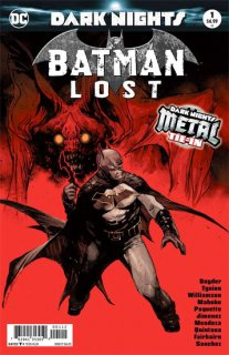 BATMAN LOST #1 2ND PTG METAL【再入荷】