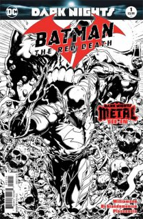 BATMAN THE RED DEATH #1 4TH PTG METAL【再入荷】