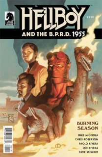 HELLBOY & BPRD 1955 BURNING SEASON ONE SHOT