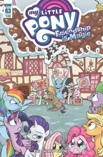 MY LITTLE PONY FRIENDSHIP IS MAGIC #63 CVR A HICKEY