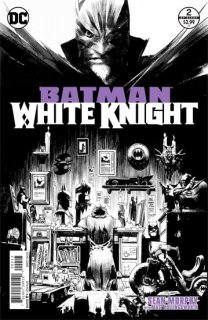 BATMAN WHITE KNIGHT #2 (OF 8) 3RD PTG【再入荷】