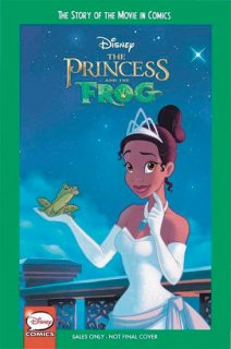 DISNEY PRINCESS AND FROG STORY OF MOVIE IN COMICS YA GN