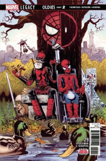 SPIDER-MAN DEADPOOL #29 LEG