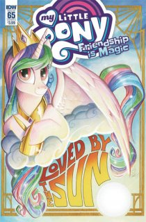 MY LITTLE PONY FRIENDSHIP IS MAGIC #65 CVR A PRICE