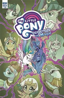 MY LITTLE PONY LEGENDS OF MAGIC ANNUAL 2018