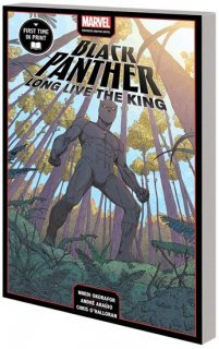 BLACK PANTHER LONG LIVE THE KING MPGN TP