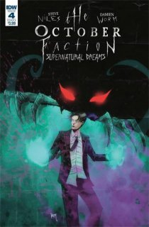 OCTOBER FACTION SUPERNATURAL DREAMS #4 CVR A WORM
