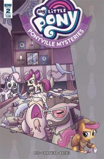 MY LITTLE PONY PONYVILLE MYSTERIES #2 CVR A GARBOWSKA