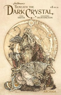 JIM HENSON BENEATH DARK CRYSTAL #1 (OF 12) SUBSCRIP PETERSON