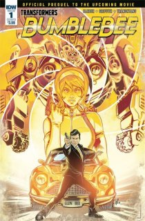 TRANSFORMERS BUMBLEBEE MOVIE PREQUEL #1 CVR B OSSIO
