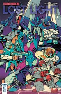 TRANSFORMERS LOST LIGHT #19 CVR A ROCHE