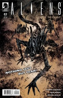 ALIENS DUST TO DUST #2 (OF 4) MAIN CVR