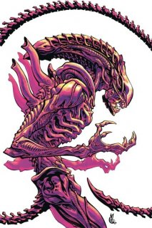 ALIENS DUST TO DUST #2 (OF 4) VAR D ANDA CVR