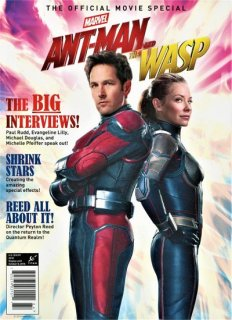ANT-MAN & WASP OFFICIAL COLL ED MAG NEWSTAND