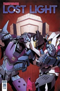 TRANSFORMERS LOST LIGHT #20 CVR A LAWRENCE