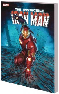 INVINCIBLE IRON MAN TP SEARCH FOR TONY STARK