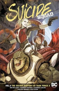 SUICIDE SQUAD TP VOL 06 SECRET HISTORY OF TASK FORCE X