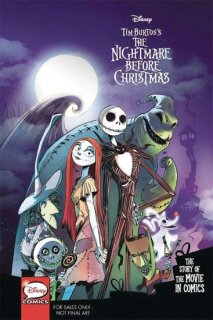 DISNEY PIXAR NIGHTMARE BEFORE XMAS MOVIE IN COMICS YA GN