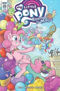 MY LITTLE PONY FRIENDSHIP IS MAGIC #69 CVR A KUUSISTO
