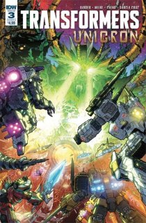 TRANSFORMERS UNICRON #3 (OF 6) CVR A MILNE