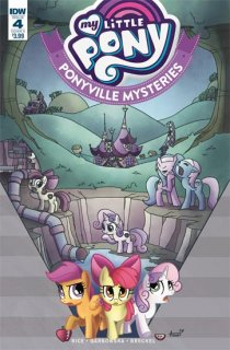 MY LITTLE PONY PONYVILLE MYSTERIES #4 CVR A GARBOWSKA