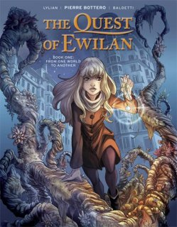 QUEST OF EWILAN HC VOL 01 FROM ONE WORLD TO ANOTHER