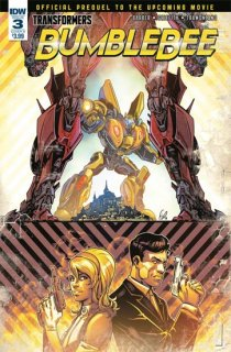 TRANSFORMERS BUMBLEBEE MOVIE PREQUEL #3 (OF 4) CVR B OSSIO