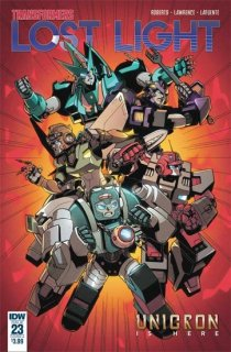 TRANSFORMERS LOST LIGHT #23 CVR A LAWRENCE