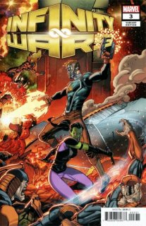 INFINITY WARS #3 (OF 6) LIM VAR