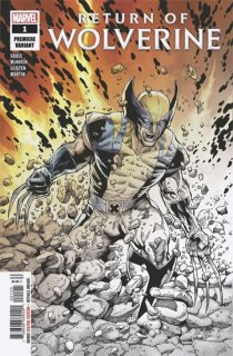 RETURN OF WOLVERINE #1 (OF 5) MCNIVEN PREMIERE VAR