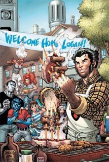 RETURN OF WOLVERINE #1 (OF 5) NAUCK PARTY VAR