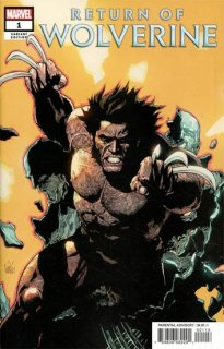 RETURN OF WOLVERINE #1 (OF 5) YU VAR