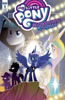 MY LITTLE PONY NIGHTMARE KNIGHTS #1 CVR A FLEECS