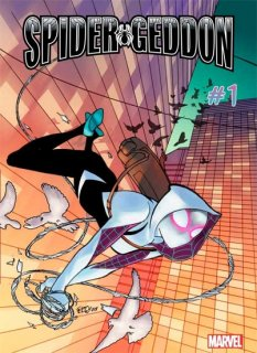 SPIDER-GEDDON #1 (OF 5) FERRY SPIDER-GWEN VAR