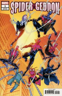 SPIDER-GEDDON #1 (OF 5) GARRON VAR