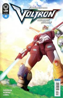VOLTRON LEGENDARY DEFENDER VOL 3 #4 CVR B RUBINE