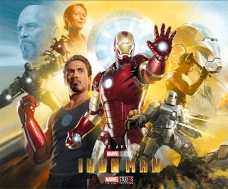 ART OF IRON MAN 10TH ANNIV HC ED