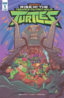 RISE OF THE TMNT #1 CVR A SURIANO