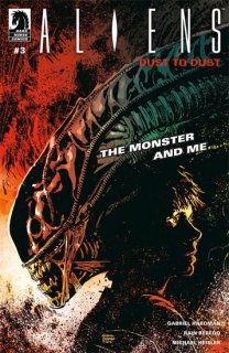 ALIENS DUST TO DUST #3 (OF 4) MAIN CVR