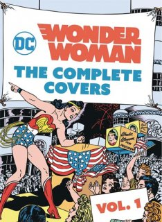 DC COMICS WONDER WOMAN COMP COVERS MINI HC VOL 01