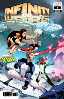 INFINITY WARS #5 (OF 6) MARQUEZ UNCANNY X-MEN VAR