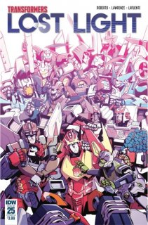 TRANSFORMERS LOST LIGHT #25 CVR A LAWRENCE