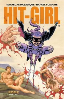 HIT-GIRL #10 CVR C BURNHAM