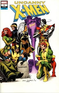 UNCANNY X-MEN #1 COCKRUM HIDDEN GEM WRAPAROUND VAR