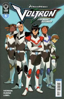 VOLTRON LEGENDARY DEFENDER VOL 3 #5 CVR B DI NICUOLO & BAIAM