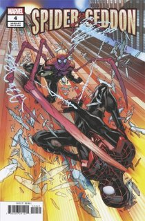 SPIDER-GEDDON #4 (OF 5) GARRON VAR