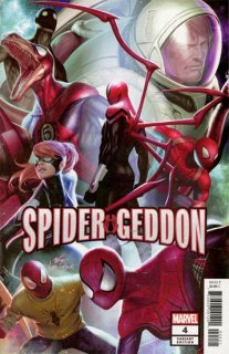 SPIDER-GEDDON #4 (OF 5) IN HYUK LEE CONNECTING VAR