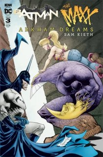 BATMAN THE MAXX ARKHAM DREAMS #3 (OF 5) CVR A KIETH