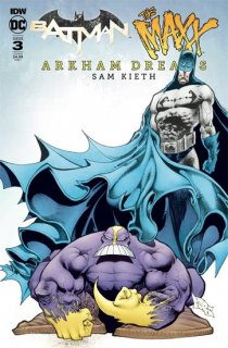 BATMAN THE MAXX ARKHAM DREAMS #3 (OF 5) CVR B KIETH